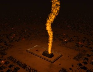 Tabernacle---Pillar-of-Fire